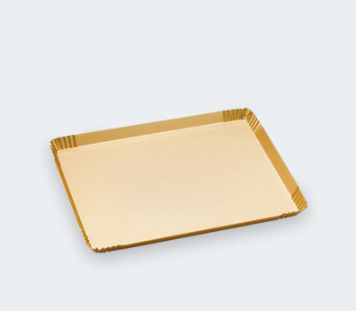 Aluminum decorative tray