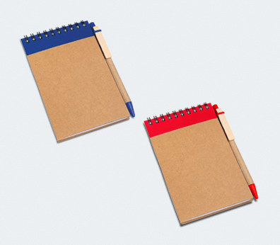 Notepad with Pen Customised with your design