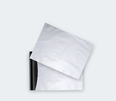 Coex plastic envelope with adhesive closure