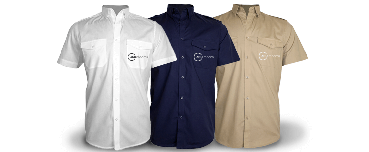 Short-Sleeve Shirt With Pockets