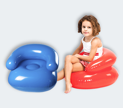 Silla de playa inflable