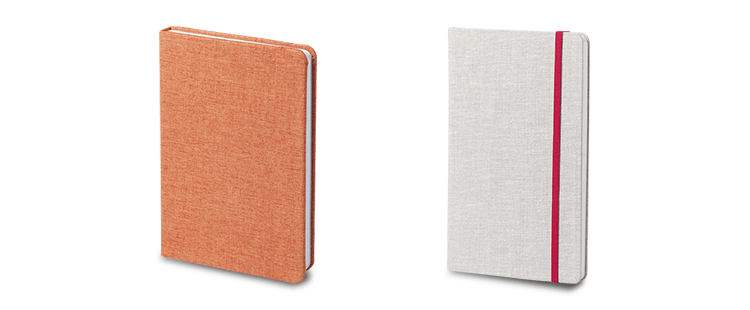 Polyester Hardcover Notebook