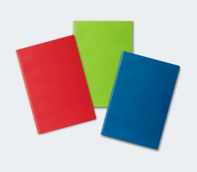 Cuaderno con tapa flexible