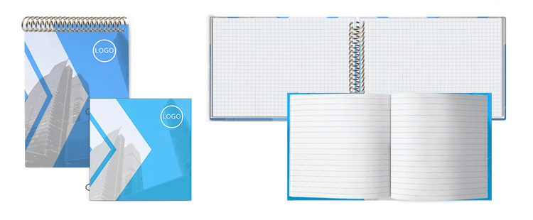 Notebooks with Custom Interior