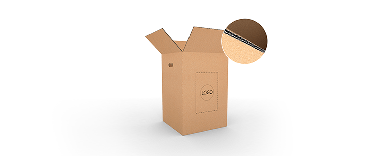 Double Wall Cardboard Boxes with Side Handles