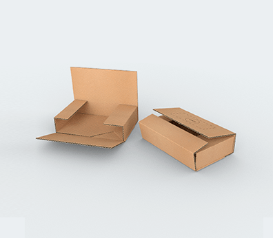 Cardboard Book Boxes Customised with your design