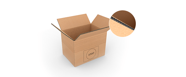 Double Wall Adjustable Cardboard Boxes with Crash Lock Base
