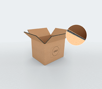 Small Size Horizontal Double Wall Cardboard Boxes Customised with your design