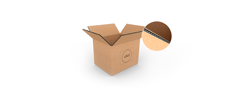 Small Size Horizontal Double Wall Cardboard Boxes