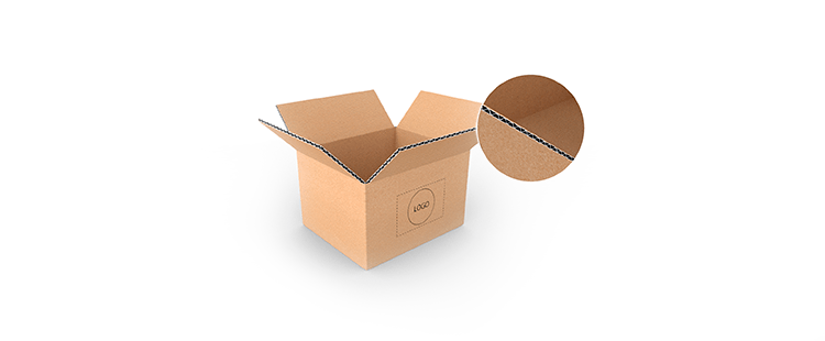 Small Size Horizontal Single Wall Cardboard Boxes
