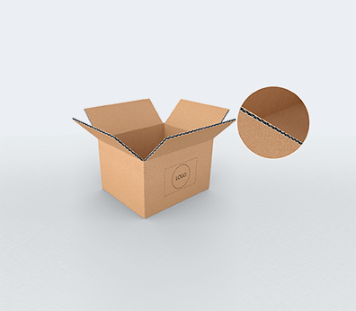 Small Size Horizontal Single Wall Cardboard Boxes Customised with your design