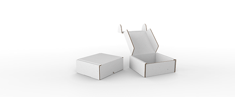 Single Wall Cardboard Postal Boxes with Locking Flaps