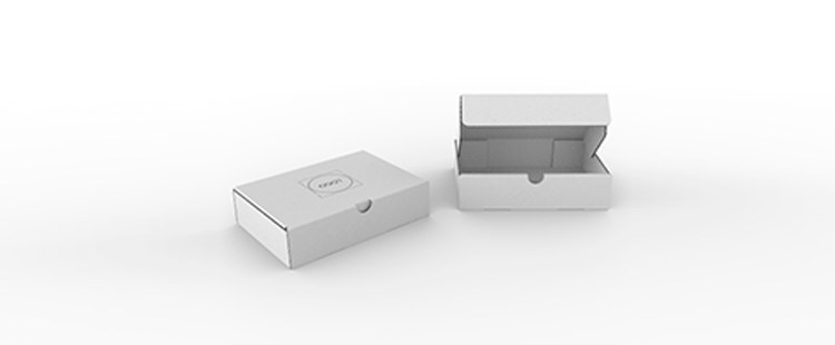 Single Wall Cardboard Postal Boxes for Flat Products