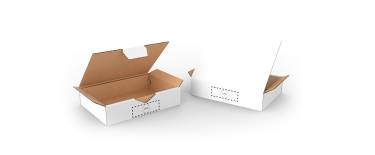 Small Size Single Wall Cardboard Postal Boxes