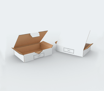 Small Size Single Wall Cardboard Postal Boxes Customised with your design
