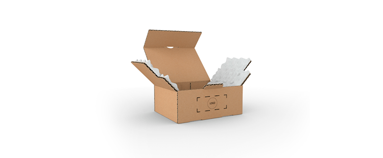 Single Wall Cardboard Postal Boxes with Foam Protection