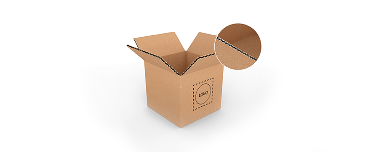 Single Wall Square Based Cardboard Boxes