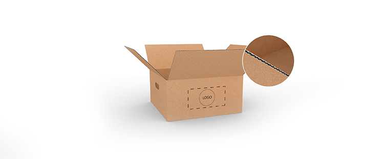 Single Wall Cardboard Boxes with Side Handles