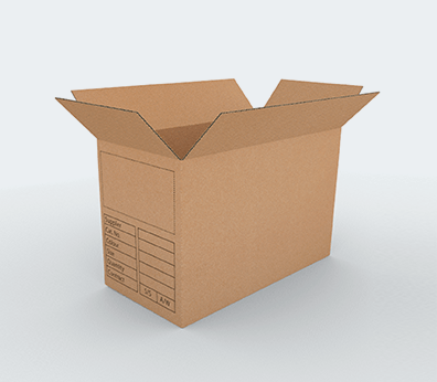 BDCM Cardboard Boxes Customised with your design