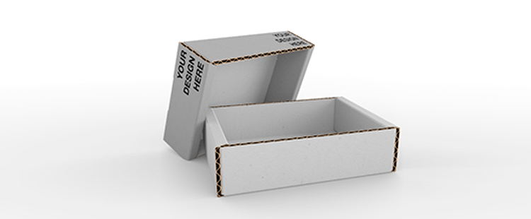 Single Wall Telescopic Cardboard Boxes with Adjustable Height
