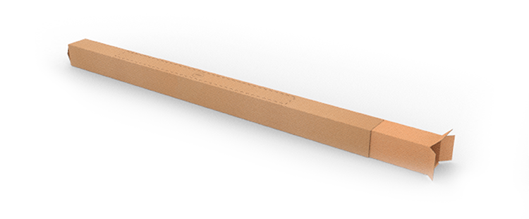 Single Wall Telescopic Cardboard Boxes with Adjustable Length
