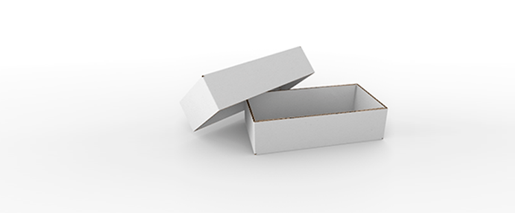 Single Wall Cardboard Boxes with Crash Lock Base and Adjustable Height