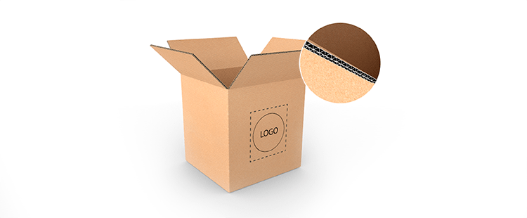 Vertical Double Wall Cardboard Boxes