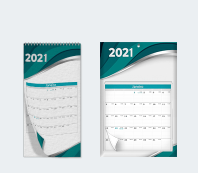 Multi-sheet Wall Calendars Customised with your design