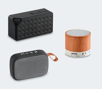 Speaker with microphone Customised with your design