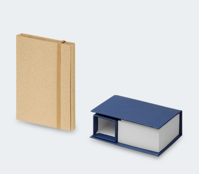 Desk notepad set Customised with your design