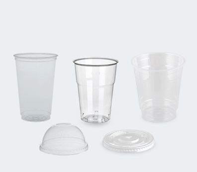 Plastic Take-Away Cups