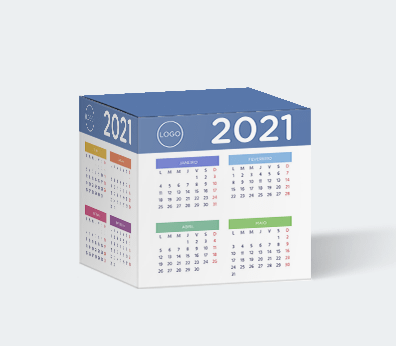 Calendrier cube