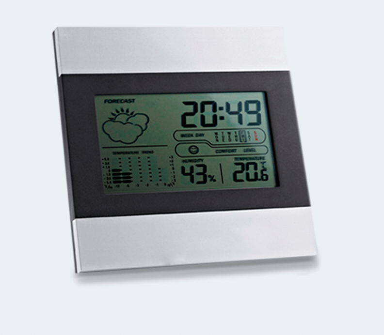 Desktop digital weather station