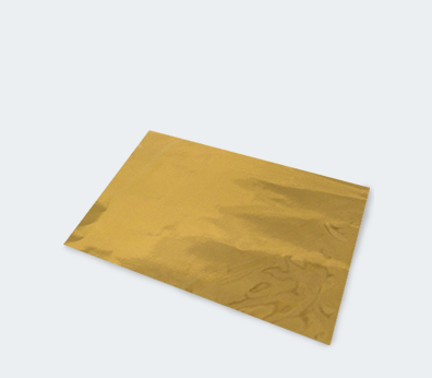 Polypropylene metallic envelope