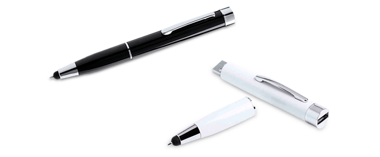 Power Bank Stift mit Stylus