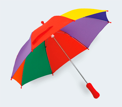 Kids Umbrella Customised with your design