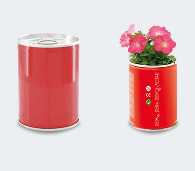 Flower in a Can