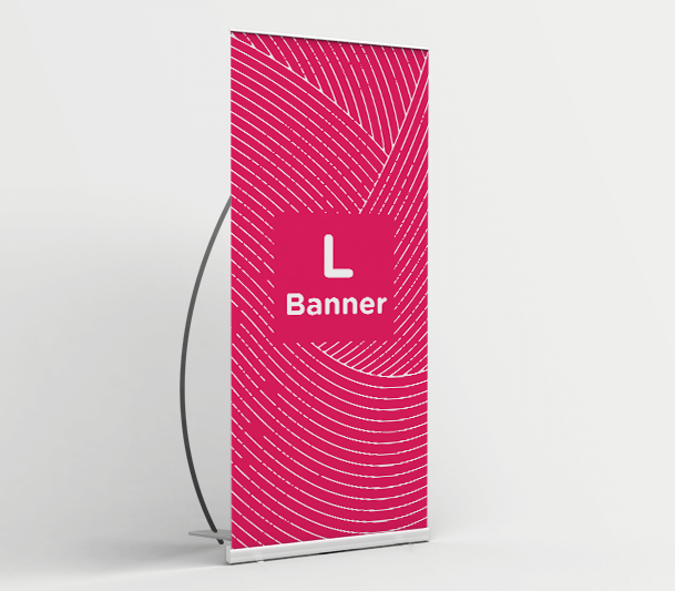 Stand banner a L