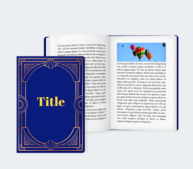 Books Customised with your design