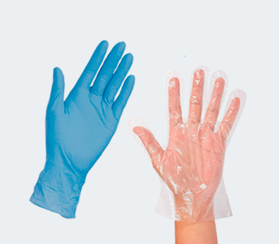 Disposable Gloves Customised with your design