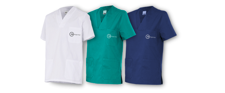 short sleeve scrub top