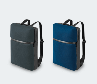 Soft Shell Laptop Backpack Customised with your design