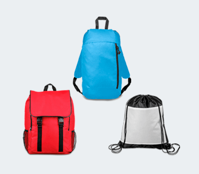 Polyester Backpack Customised with your design