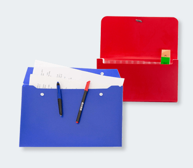 Porte-documents en plastique
