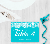 Cartes de placement de table