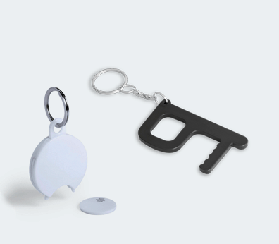 Antibacterial Keychain Customised with your design