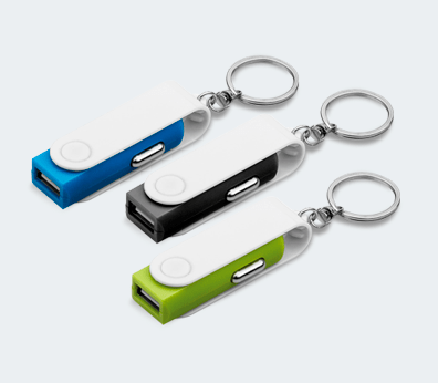 Car Charger Keychain Customised with your design