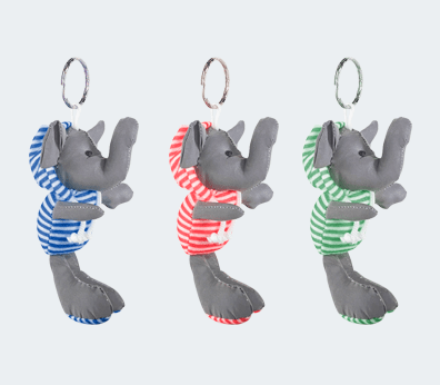 Plush Keychain Customised with your design