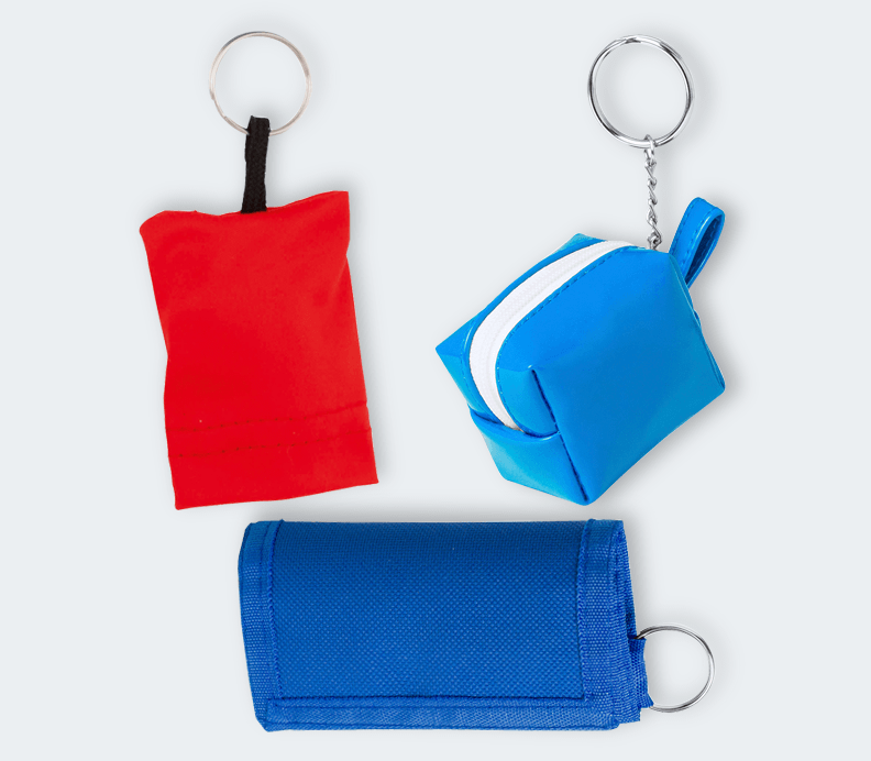 Coin Purse With Keychain