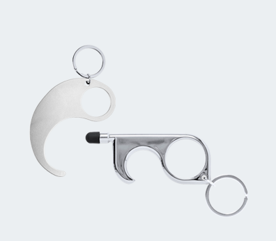 Touchless Keychain Customised with your design